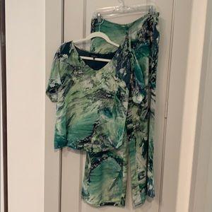 Matching pant and shirt set